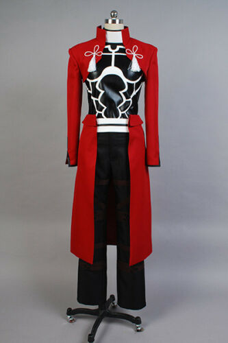Fate Stay Night Archer Cosplay Costume Halloween Party Emiya Archer Red Outfit