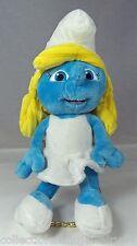"Smurfette Plush 12"" Doll from Animated Comic The Smurfs Peyo La Schtroumphette"