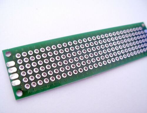 Plaque PCB prototype double face 2x8 cm Double Side Board PCB DIY Prototype