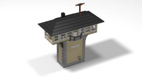 PDF-Anleitung Pilzstellwerk MOC Unikat Custom zum Bau aus LEGO©-Steinen