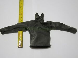 1-6-Scale-Black-Superman-Sweatshirts-For-12-034-Action-Figure