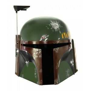 Boba Fett Helmet Collectible Adult Star Wars Collector's Edition Costume Mask