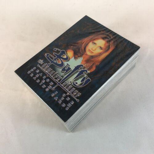 Complete Card Set SARAH MICHELLE GELLAR BUFFY THE VAMPIRE SLAYER SEASON 1 1998