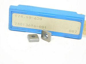 NEW-SURPLUS-10PCS-SECO-174-10-620-CARBIDE-SHIM-SEAT