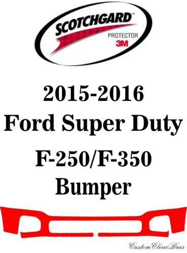 3M Scotchgard Paint Protection Film Bra 2015 2016 Ford Super Duty F-250 F-350