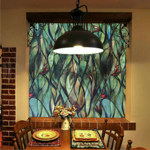 3D Window Sticker Films Static Cling Glass Blackout Stickers Privacy Home Decor