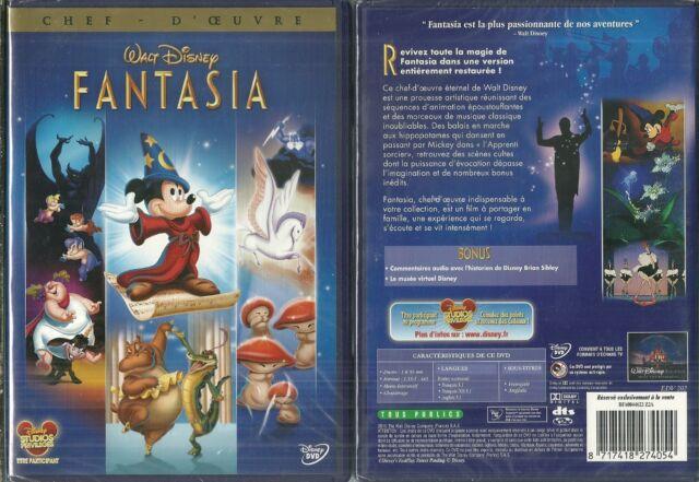 DVD - WALT DISNEY : FANTASIA - MICKEY / NEUF EMBALLE - NEW & SEALED