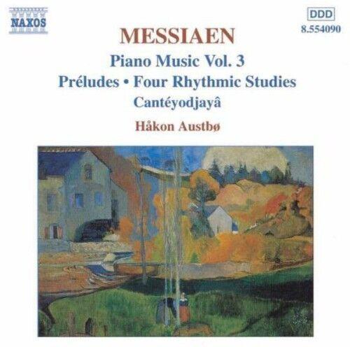 1 of 1 - H kon Austb, Double Edge - Piano Music 3 [New CD]