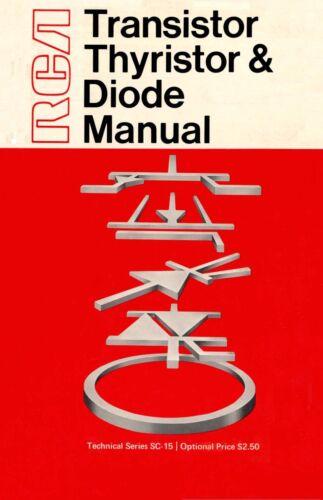 Collectibles Radios 5 Manuals PDF CDROM KE3GK RCA Transistor ...