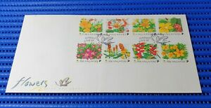 1998-Singapore-First-Day-Cover-Singapore-Flowers-Commemorative-Stamp-Issue