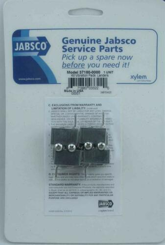 Jabsco 37180-0000 Water Pump Vibration Pad Kit 3136