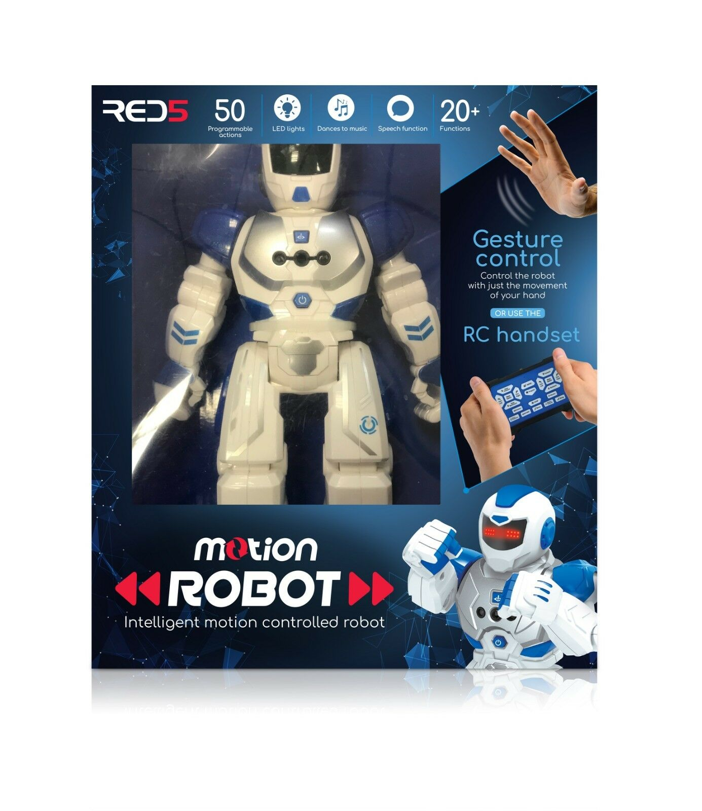 Remote Control or Hand Motion Robot Interactive Kit Robot Boys Toy Gift
