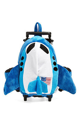 FA-290 Kid/'s Unisex Age 3 /& Up Popatu Jet Airplane Rolling Backpack