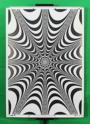 """splash Psychedelic rasher flasher Vintage 1993 poster 25.25/"""" X 35.75/""""NOS b69"""