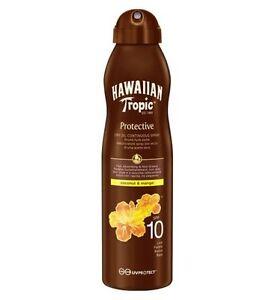 Hawaiian-Tropic-continua-SPRAY-ACEITE-SECO-SPF-10-180ml
