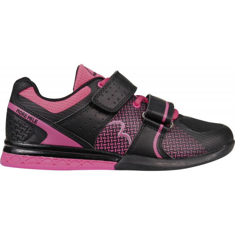 Womens More Mile Super Super Super Lift 3 Womens Crossfit  Weightlifting shoes - Black d45d2a