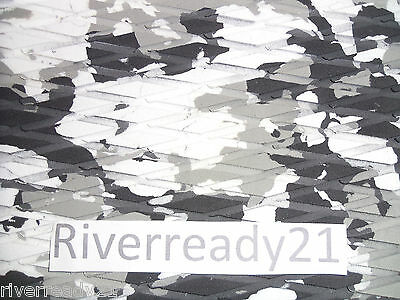 EVA Foam Hydroturf Sheet Adhesive Skid Matting Camouflage Marine Boat For Jetski