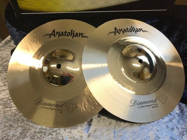 ANATOLIAN Diamon Series  12  Regula HiHat Cymbals aus ISTANBUL - TURKEY - NEU