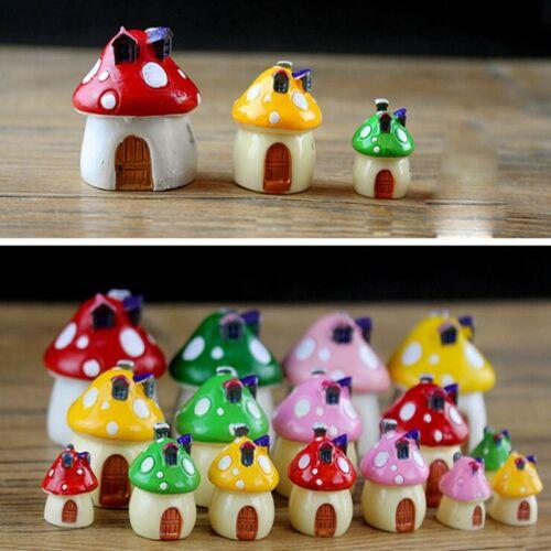 Cute Miniature Fairy Garden Ornament Decor Pot DIY Craft Accessories Dollhouse