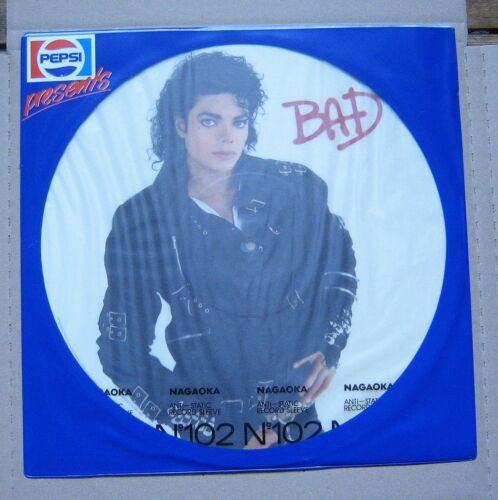 1 von 1 - Michael Jackson, Bad, Picture disc, Pepsi Promo, 1987, NL