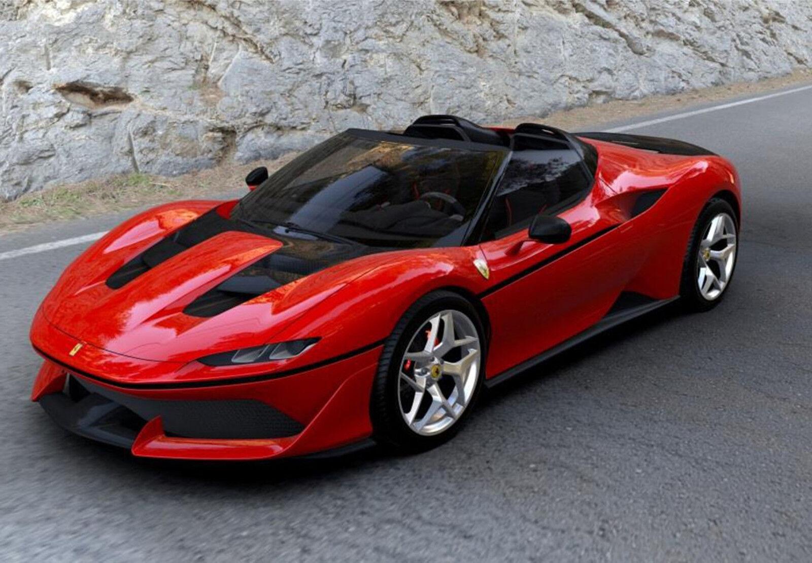 Ferrari J50 red strait 1 43 lim ed  28 BBRC208F BBR pcs
