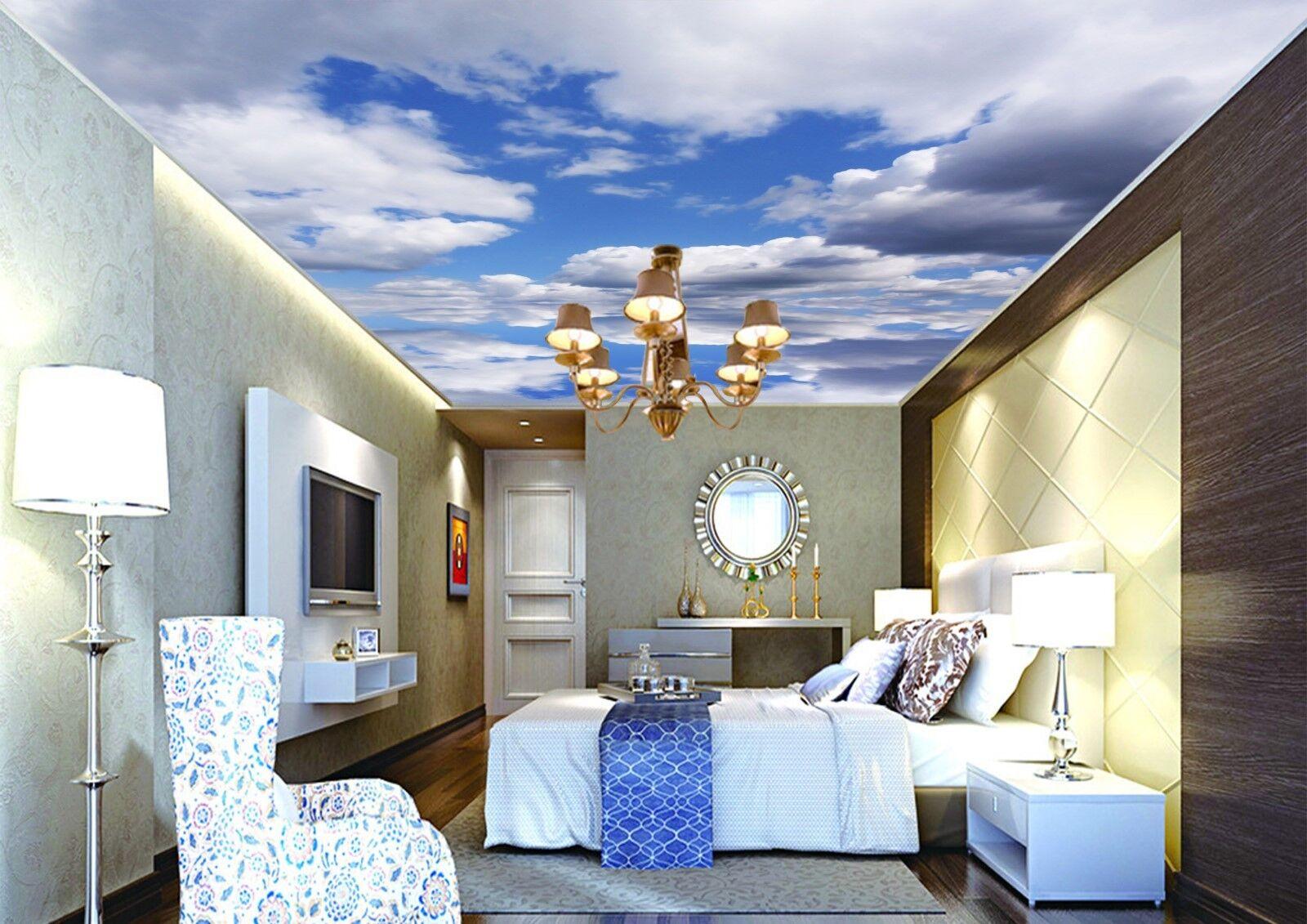 3D Seltsame Wolken 74 Fototapeten Wandbild Fototapete BildTapete Familie DE Kyra