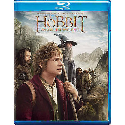 #5 THE HOBBIT AN UNEXPECTED JOURNEY Brand New Blu-Ray Set FREE SHIPPING