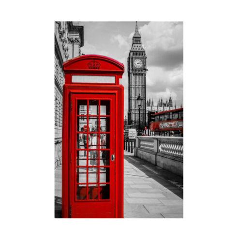 Hazlo tú mismo 5D Diamante Kit de bordado cross stitch artesanías de pintura de decoración del hogar Londres