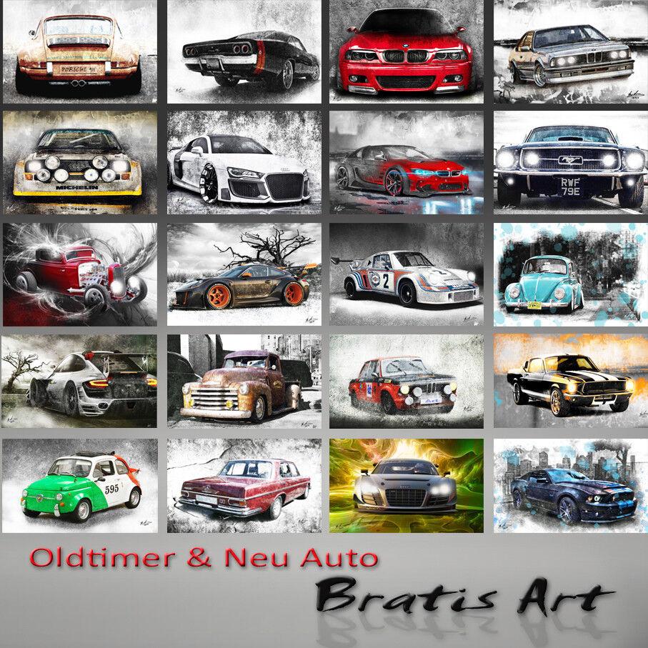 Voiture Abstrait fresque Images sur toile la fresque Abstrait Disney  s Cars Mc Queen XXL 947 A 435d02