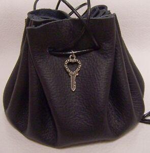 Details zu Lederbeutel Handtasche Geldbeutel Mittelalter Larp Tabak Säckchen Schlüssel 4