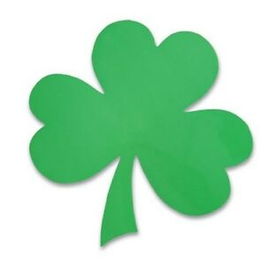 SHAMROCK CLOVER IRISH LEAF CAR FRIDGE MAGNET