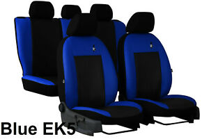Universal-Eco-Leather-Full-Set-Car-Seat-Covers-fits-Ford-Focus-Up-To-2011