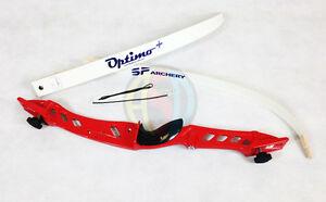 """Core Archery Pro Descendre Complet Arc Bow Rouge 68"""" Bow Longueur-afficher Le Titre D'origine"""