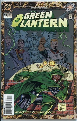 Green Lantern 1990 series annual # 3 near mint comic book
