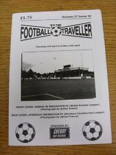 03/04/2014 The Football Traveller Magazine: Vol 27 Issue 32 (Cover Picture: Airb
