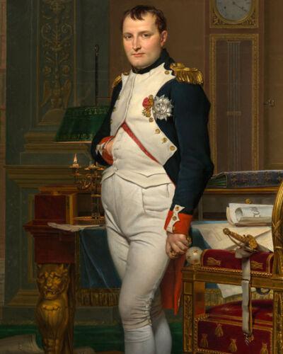 Emperor Napoleon Bonaparte in His Study at the Tuileries 10x8 Photo