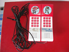 (15.6.28.19) Vintage TRANSFORMERS téléphone STAR TRONIC STARTRONIC MEHANOTEHNIKA