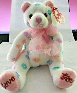 Mothers Day Ty Beanie Baby Mom-e MWMT Bear Internet Exclusive 2002
