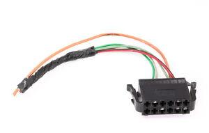 Trunk Central Locking Vacuum Pump Wiring Plug Pigtail 9399 Jetta