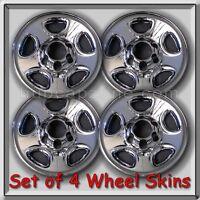 2003-2004 Gmc Sierra Truck 1500 Chrome Wheel Skins, Hubcaps 16 Wheels Set Of 4