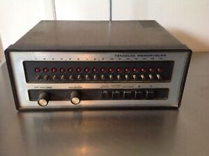 Vintage-Tennelec-Memoryscan-Model-MS-1-Radio-Receiver-Frequency-Scanner-Rare