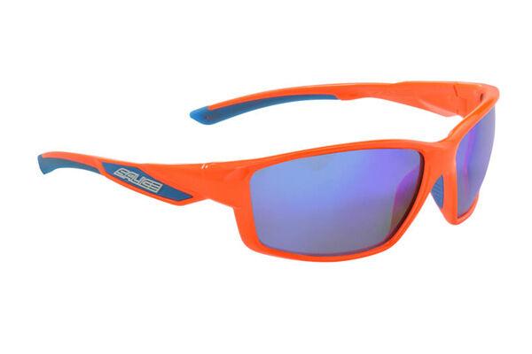 Gafas SALICE Mod.014RW orange Fluorescente Lente  Rainbow blue GLASSES 014RW ORA  sale with high discount