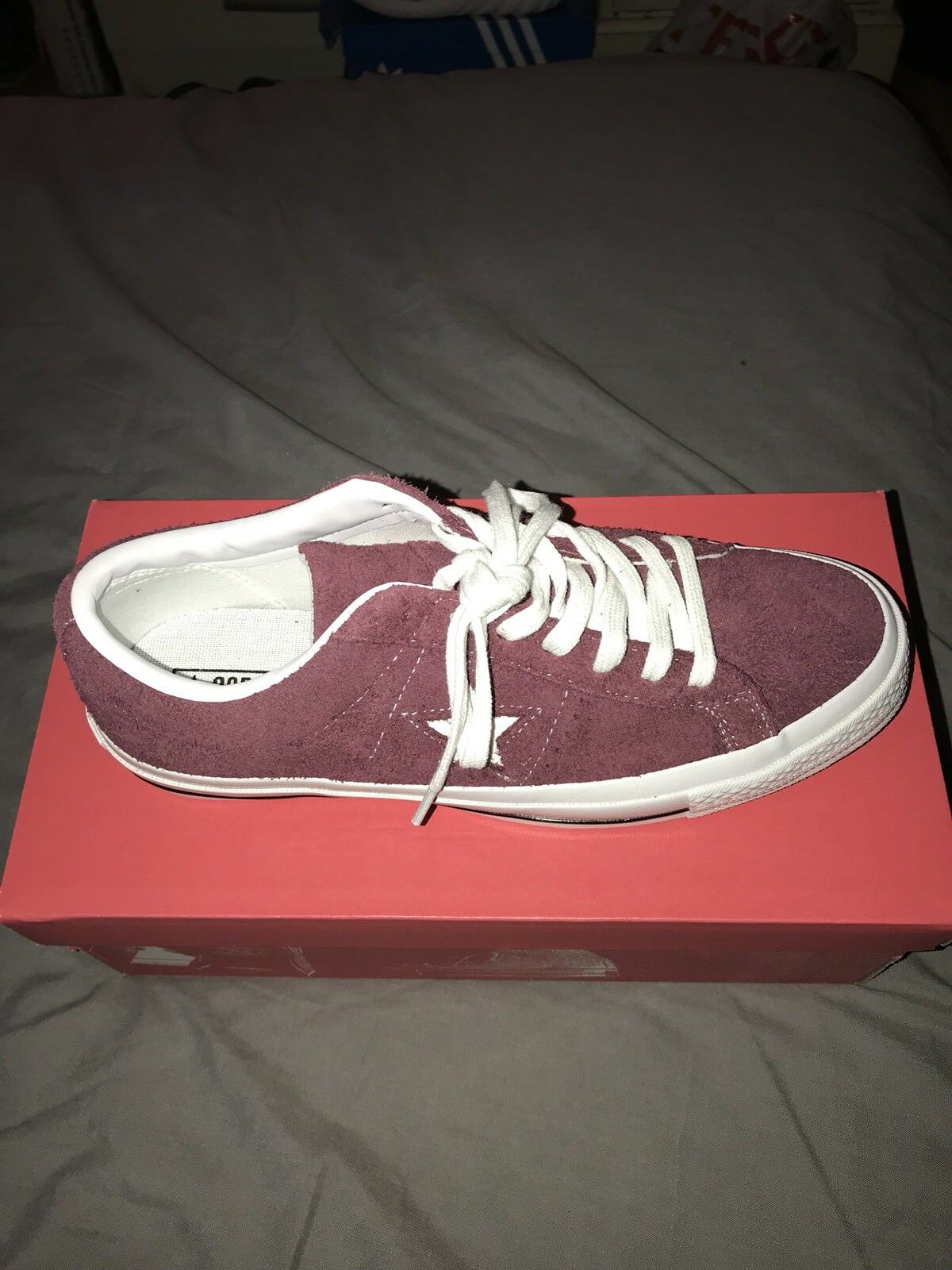 Deep Burgundy Converse  size 8 BRAND NEW IN BOX