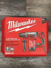 New Milwaukee 5268 21 1 18 Sds Plus Rotary Hammer Corded Kit