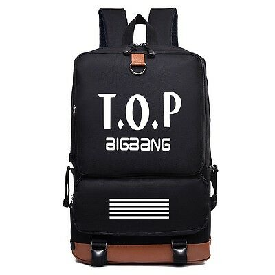 TOP T.O.P bigbang MADE BAG BACKPACK KPOP NEW NLB014