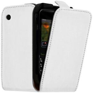 Housse-Coque-Etui-de-Protection-Couleur-Blanc-pour-Blackberry-Curve-8520