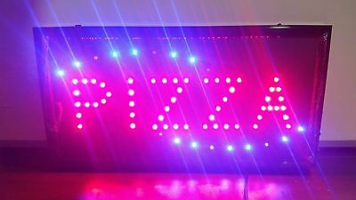 *LOT OF 25PCS WHOLESALE* Animated Bright LED Business Plug-In Light Sign Display