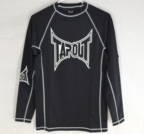 TAPOUT RASH GUARD MEDIUM NEW WITH TAGS Mens Long Sleeved Fighting MMA NWT