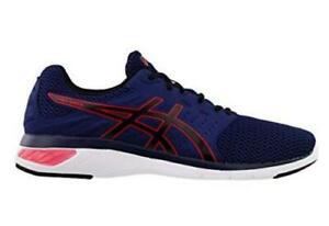 Asics-Gel-Moya-Navy-Blue-Men-039-s-Running-Shoes-Athletic-Sneakers-T841N