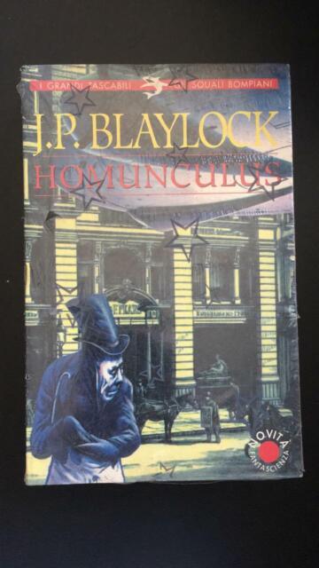 Homunculus -James Blaylock,  Squali Bompiani - P